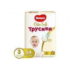Huggies Трусики Pants Elite Soft М (3) 54 шт