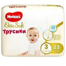 Huggies Трусики Pants Elite Soft М (3) 25 шт