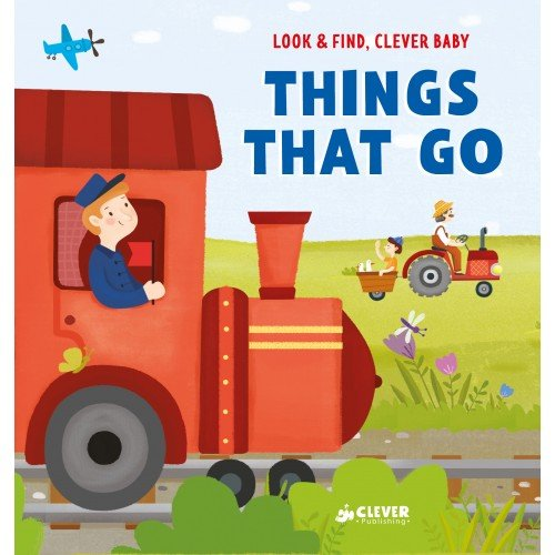 Clever English Books, Look and find, Clever baby: Things That Go