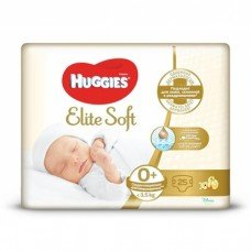 Huggies Elite Soft 0+ (до 3,5кг) 25шт